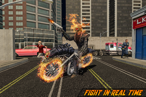 Ultimate Ghost Ride Superhero City Rescue Mission for PC