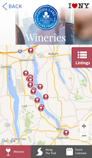 Cayuga Lake Wine Trail- screenshot thumbnail