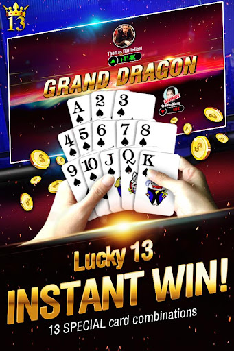 Lucky 13: 13 Card Poker Puzzle  gameplay | by HackJr.Pw 2