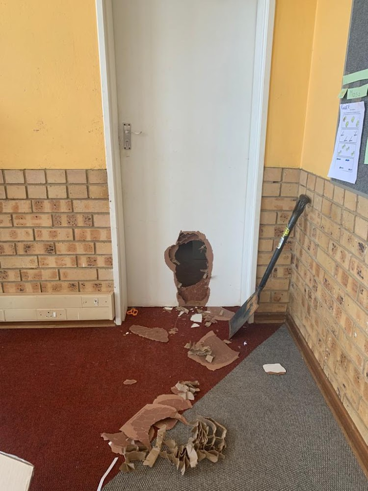 Criminals hit Gauteng school, steal protective equipment before teachers' return - SowetanLIVE