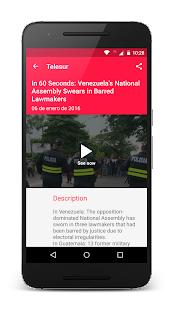 teleSUR English- screenshot thumbnail