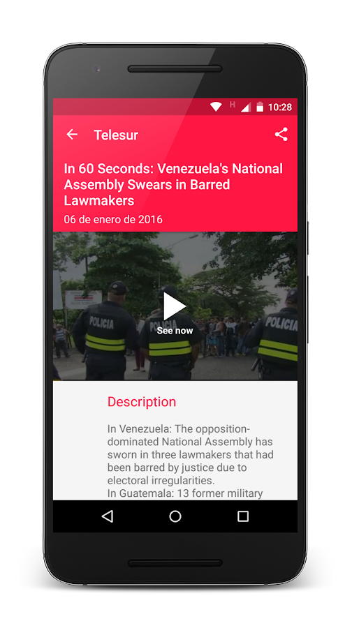 teleSUR English- screenshot
