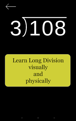 Long Division Touch - screenshot