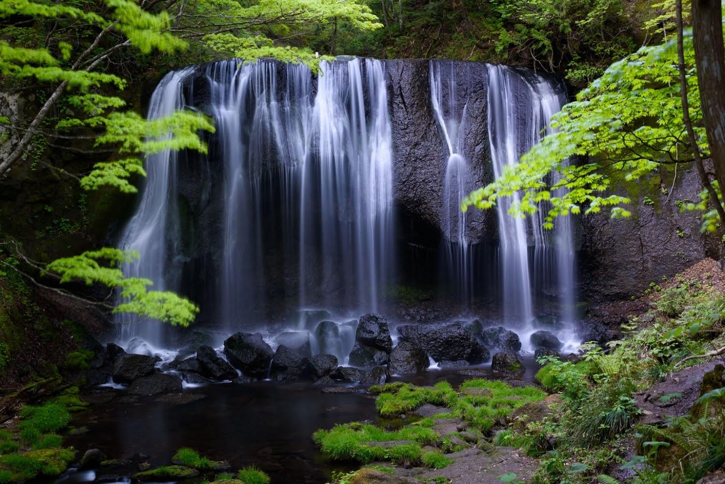 【旅24日目】福島の秘境、荘厳なる達沢不動滝