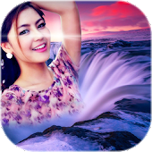 Waterfall Photo Frames - Photo Editor