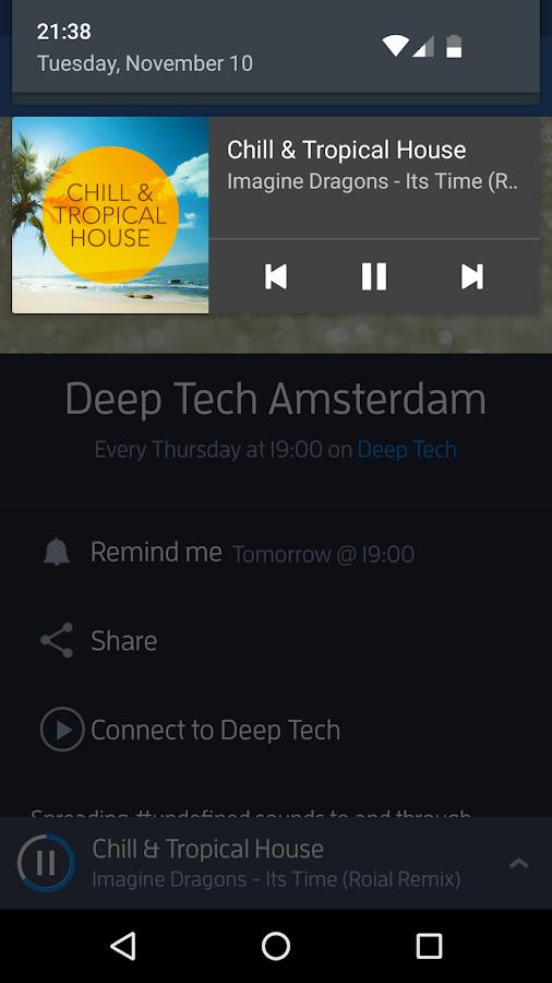 Digitally Imported Radio- screenshot