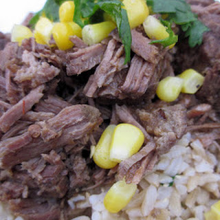 Weight Watchers Slow Cooker Chipotle's Barbacoa Beef.