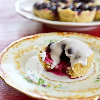 Blueberry Moscato Tartlets
