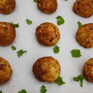 Spicy Lentil Meatballs.