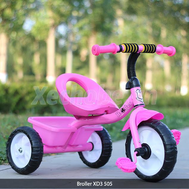 xe đạp cho trẻ em ba bánh có bàn đạp