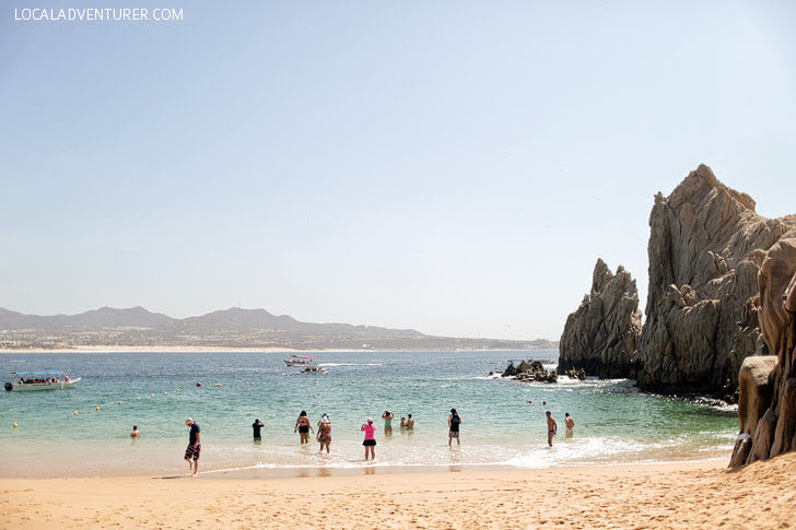 Lovers Beach Cabo San Lucas Mexico.