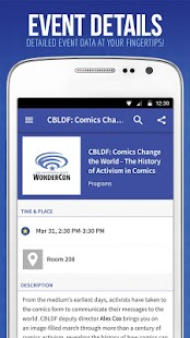Official Comic-Con App- screenshot thumbnail