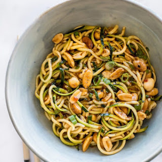 15 Minute Kung Pao Zoodles.