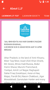 Lucknow Literary Festival- screenshot thumbnail