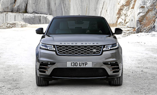 The next- generation Range Rover Evoque could adopt the frontal styling from the Velar.