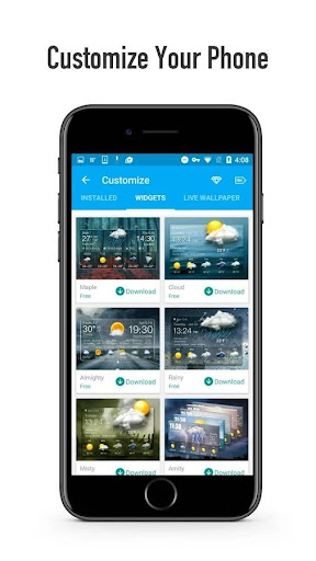 OS Style Daily live weather forecast 16.6.0.6243_50109 Screenshots 4