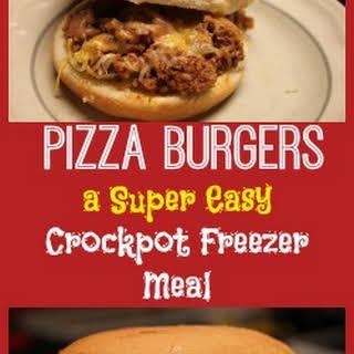 Pizza Burgers.