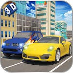 Crazy Traffic Car Racer 3D Icon
