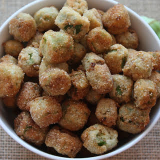 Fried Okra Without Egg Recipes.