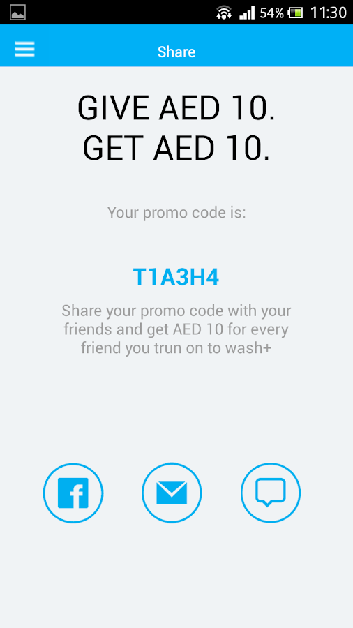 Washplus Laundry Delivery- screenshot