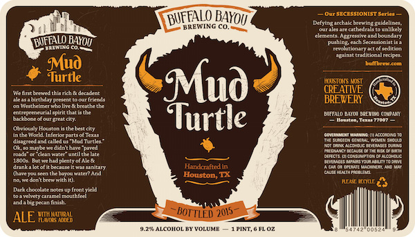 Logo of Buffalo Bayou Mud Turtle