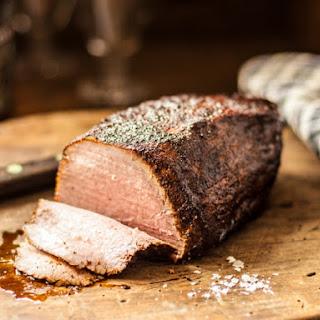 Coffee Rubbed Roast Beef