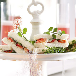 Crayfish and Watercress Sandwiches