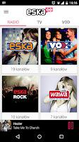 Screenshot of eskaGO - radio | tv | vod