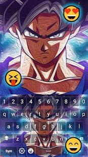 Goku DBZ Keyboard Emoji - náhled