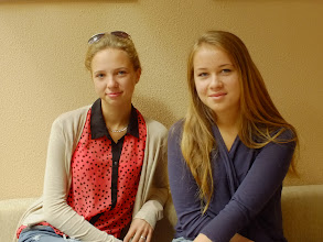 Photo: Nuo 2014m. liepos 22d. Rambyno reg. parko direkcijoje savanorystės principais įsidarbino dvi moksleivės – Eva Karklelytė iš Bitėnų ir Greta Mamkutė iš Bardėnų - europinės mados Bitėnuose.
