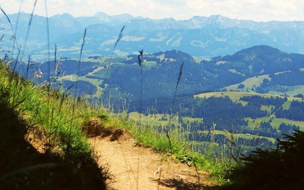 Gaishorn Rauhhorn Kugelhorn Rotspitz Großer Daumen Ofterschwanger Horn Sigiswanger Horn Nagelfluhkette Allgäu