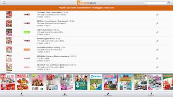 Screenshot of Aktionsfinder