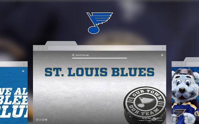 NHL St. Louis Blues New Tab