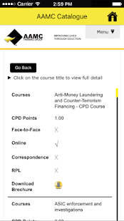 AAMC Training- screenshot thumbnail