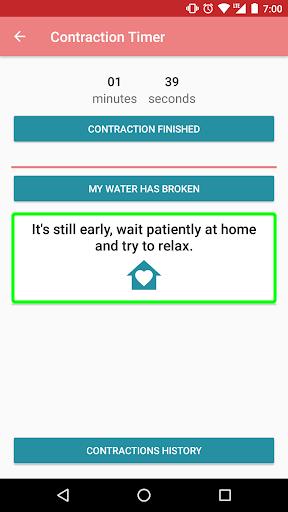 Contraction timer 1.2.1 Screenshots 9