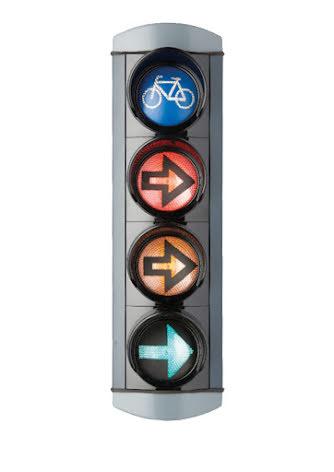 Alustar 100 mm 4-lys cyklist H-pil