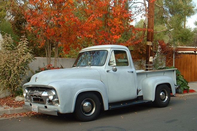 1954 Ford Pick-Up Truck Hire Los Angeles