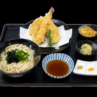 Asakusa Tempura Udon Set