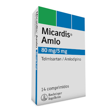 Micardis Amlo 80/5Mg   Comprimidos Caj.X14Com Boe Telmisartán Amlodipino