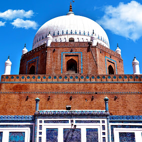755 Years Old Tomb of Sheikh Baha-ud-Din Zakariya  by Umair Nayab - Buildings & Architecture Public & Historical ( pakistan, old, building, tomb, historical,  )