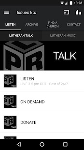 Lutheran Public Radio- screenshot thumbnail