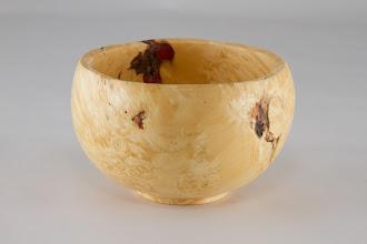 """Photo: Tim Aley 4"""" x 3"""" bowl [box elder]"""