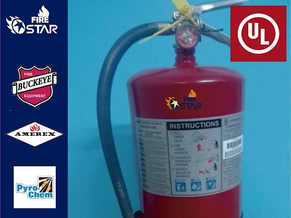 Certificación ul extintores