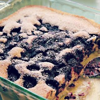 Julie's Gluten-Free Easy Berry Cobbler.