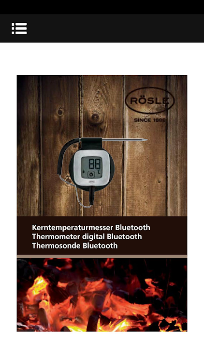 Thermometer digital Bluetooth – (Android Apps) — AppAgg
