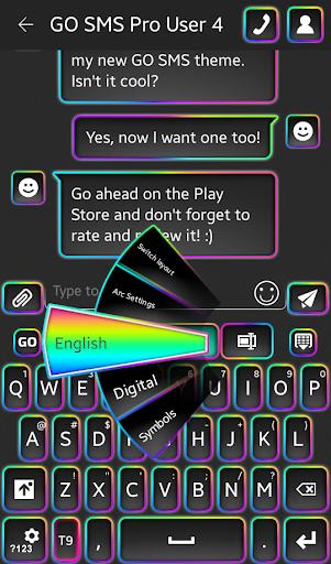 霓虹彩虹键盘