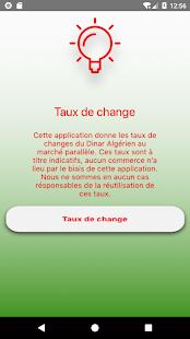 Change dinar Algerien - náhled