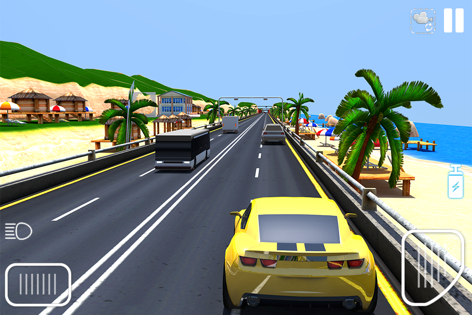 Traffic Car Racing Game- screenshot