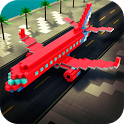 Mine Passengers: Plane Simulator - Aircraft Game icon