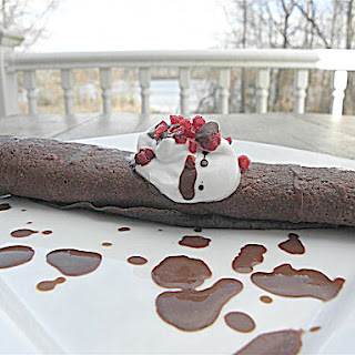 Chocolate Raspberry  Mousse Dairy Free Sugar Free Filling